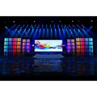 Indoor P 3 High Definition Led Curtain Display Full Color for Stage Manufactures