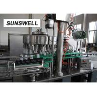 Rinsing Water Recycle Juice Filling Machine For Aluminum Bottle Production Line Manufactures