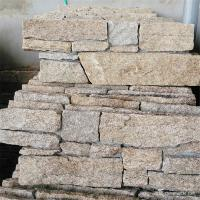 Natural Stone External Stone Wall Cladding With Cement / Concrete Backed Manufactures