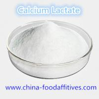China Food Additives Calcium Lactate food grade CAS:814-80-2 on sale