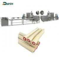 China Dog Snacks Dog Food Production Line Simens PLC And Touch Screen With CE Certificated on sale