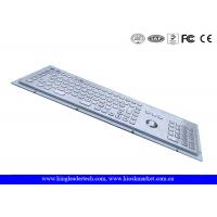 China Industrial Kiosk Computer Metal Keyboard With Panel Mount Function Keys wholesale