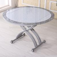 China Pneumatic Lifting Center Coffee Table , Glass Lift Top Coffee Table on sale