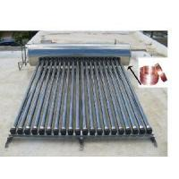 Solar Water Heater With Copper Coil Heat Exchanger