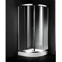China 900x900 Small Corner Shower Units , Fiberglass Shower Enclosures Sliding Open Style on sale