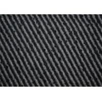 Hongmao Modern Tweed Fabric , Strip Tweed Upholstery Material 600g/m Manufactures