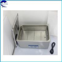 38L Desktop Stainless Steel digital power adjustable Ultrasonic Cleaners for Denture Cleaning Manufactures