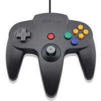 Game Joystick Black N64 Usb Controller , Nintendo 64 Controller For Android Manufactures