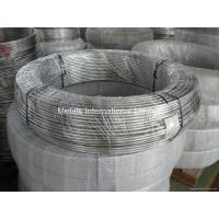 ERW ASTM 316 Stainless Steel Coiled Tubing / Pipe for for cooling Manufactures