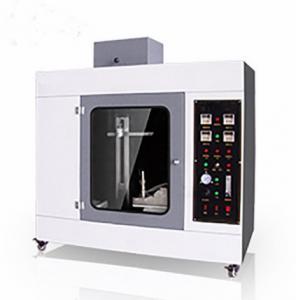 UL94 Flammability Testing Equipment Plastic Vertical Horizontal Combustion Testing Machine