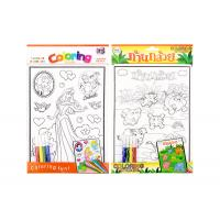 3D embossing activity coloring sticker kids sticker printing for children Manufactures