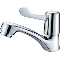 Deck Mount Brass Single Cold Basin Tap Faucets With One Handle For Ø22mm - Ø30mm Sink Hole Manufactures