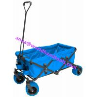 Heavy Duty Collapsible Folding All Terrain Utility Beach Wagon Cart Manufactures