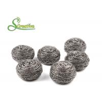 25g Stainless Steel Scourer For Kitchen Pan Cleaning Strong Cleaning Capacity Manufactures