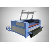 Water Cooling Fabric CO2 Laser Engraving Machine High Speed For Autocar Seat Cover Manufactures