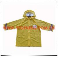 #KIDS018 PVC Children Rain Coat Manufactures