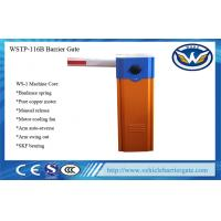 Industrial Security Traffic Barrier Gate , automatic parking barriers 120w Motor Power Manufactures