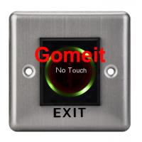 Stainless Steel No Touch Exit Switch / Door Button Manufactures