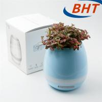 Quality Indoor Outdoor Decorative Led Lighted Flower Pots Smart With Drainage Outlet for sale