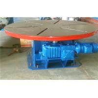 5T Horizontal Rotary Welding Positioners Turntables Heavy Duty Manufactures