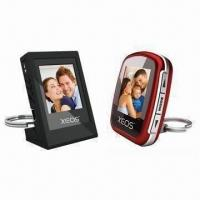 China 1.44-inch DPF with Foldable Keychain as Stand/Up to 100 Photos/Auto-run Programs on sale
