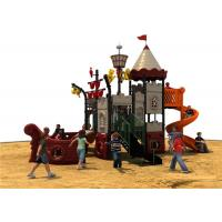 Kids Backyard Play Equipment With Color Animals , Outdoor Park Equipment Manufactures