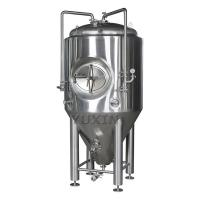 stainless dimple jacketed 7bbl conical fermenter 1000 ltr beer fermentation tank
