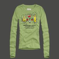 China a&f Women's Long Sleeve t-Shirt Abercrombie&fitch Women Tshirts on sale