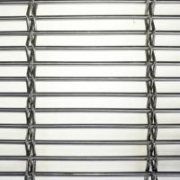 Flexible stainless steel architectural wire mesh for wall cladding Manufactures