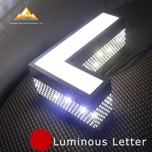 High Brightness Side Punching Signage Bespoke Illuminated Sign Letters Manufactures