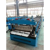 China Metal steel roof Kliplock roll forming machine for manufacture for sale