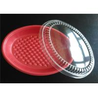 PP Plastic Takeaway Trays , Four Compartment Food Trays With Lids For Keep Food Clean Manufactures