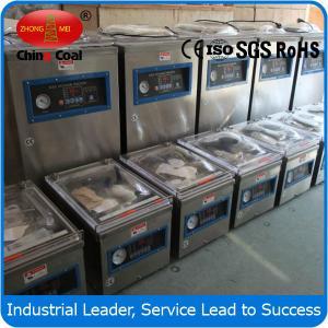 China dz400 -2d vertical single chamber vacuum packing machine on sale