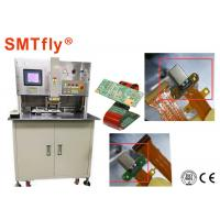 FPC To PCB Hot Bar Soldering Machine With Double - Desk Working Mode Manufactures