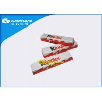 Aluminum Chocolate Foil Wrappers , Candy Bar Foil Wrappers / Squares For Wrapping Chocolates Manufactures