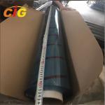 Light Blue Color Super Clear PVC Film Rolls , PVC Bendable Plastic Sheet Manufactures