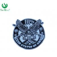 Safety Stick On Custom Police Patches Smooth Badge Beautiful Design Manufactures