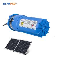 Plastic 12 Volt Submersible Water Pump , Solar Powered Dc Water Pump Iron Manufactures