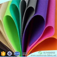 Best quality for colorful PP spunbond nonwoven fabric,100%polypropylene,medical,qgriculture,bags,tnt tablecloth Manufactures