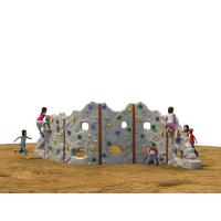 Galvanized Steel Kids Climbing Wall Curved Plate Splicing Rock Artificial Manufactures