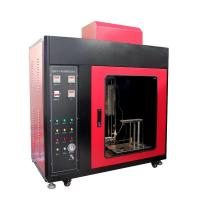 Foam Plastics Horizontal and Vertical Flammability Tester with MCU Control Manufactures