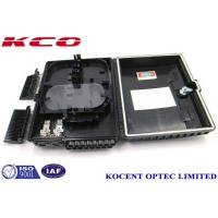 16 Port Outdoor Wall Mount Fiber Optic Splitter Terminal Box IP68 PC+ABS Plastic KCO-ODP-16B Manufactures
