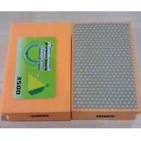 100mm Resin Hand Diamond Polishing Pads , Smoothing Out Irregular Surfaces Manufactures