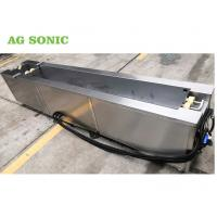 Flexographic Anilox Rolls Industrial Ultrasonic Washing Machine With Rotating System Manufactures
