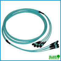 High Performance MPO Fiber Optic Cable With Multi - Cores PVC Jacket Manufactures