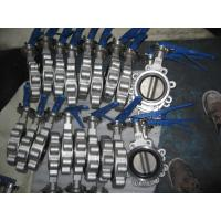 Excellent Regulation Performance ANSI Class 125 / 150 Stainless Steel Lug Butterfly Valve Manufactures
