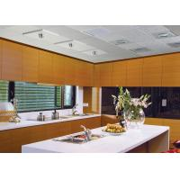 China Home Depot White Quartz Kitchen Countertops With NSF SGS Certification on sale