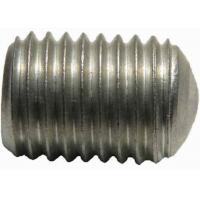 Custom Aluminum Set Screw With Oval - Flat Point Made By Die Casting Mold Manufactures