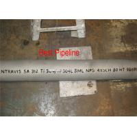 4H13 X46Cr13 1.4034 Electric Resistance Welded Steel Pipe Chromium Steel Material Manufactures