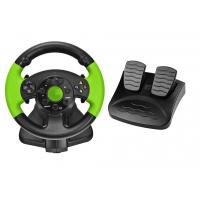 China PC / X-INPUT / P3 / XBOX 360 All in One VIdeo Game Steering Wheel with Foot Pedal on sale